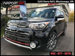 2017 Kia Soul SX TURBO/AUTO/AIR/HTD SEATS/ALLOYS/POWER GROUP