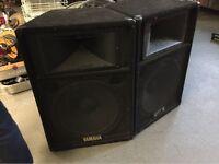 Yamaha S115 Passive PA Speakers