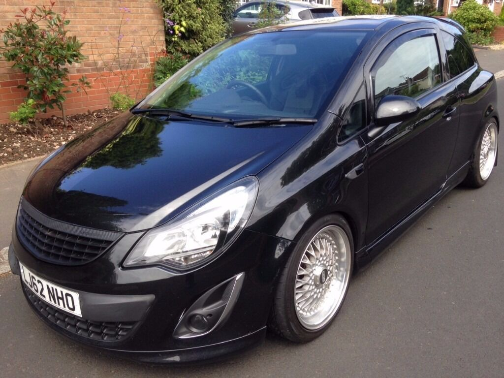 vauxhall corsa black edition 1 4t vxr interior lowered custom sound system 12 months. Black Bedroom Furniture Sets. Home Design Ideas