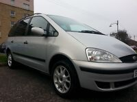 ★ LOW GUARANTEED 73,000 MLS -7 SEATER★ 2001 FORD GALAXY ZETEC 2.3 ★ 13 MONTHS MOT ★ EXCELLENT COND'N