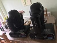 2 x Chauvet Legend 3000 Moving Heads