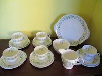 Shelley Tea Set - Harebell - £100