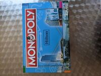 MONOPOLY HILTON RARE 2017 special edition