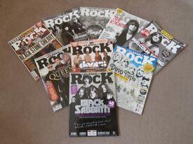 Classic Rock Magazines over 100 magazines