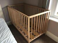 Good condition baby kids cot bed