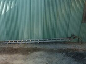 4.5 Metre Roof Ladder with Ridge Hook