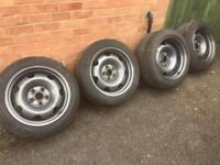 Vw t5 banded steel wheels