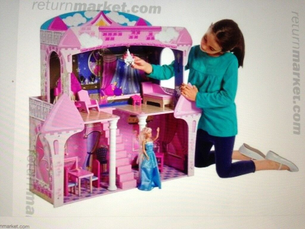 ✨BRAND NEW ✨BNIB LARGE WOODEN PRINCESS CASTLE/DOLLS HOUSE ✨REQUIRES SELF ASSEMBLY✨