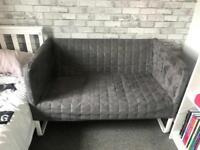 Grey Ikea 'Knopparp' sofa