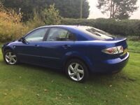 CHEAP CAR MAZDA 6 LOW MILEAGE 1.8 PETROL FULL SERVICE HISTORY AND 11MTHS MOT