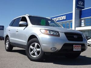 2008 Hyundai Santa Fe GLS 3.3L | LEATHER | SUNROOF | HEATED SEAT Stratford Kitchener Area image 4