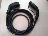 Nissan Leaf24/30 orNV200 Type2 to Type1 32A Car Charging Cable