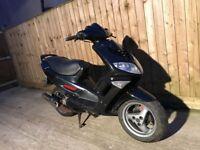 Peugeot speedfight 100cc scooter moped 11months mot
