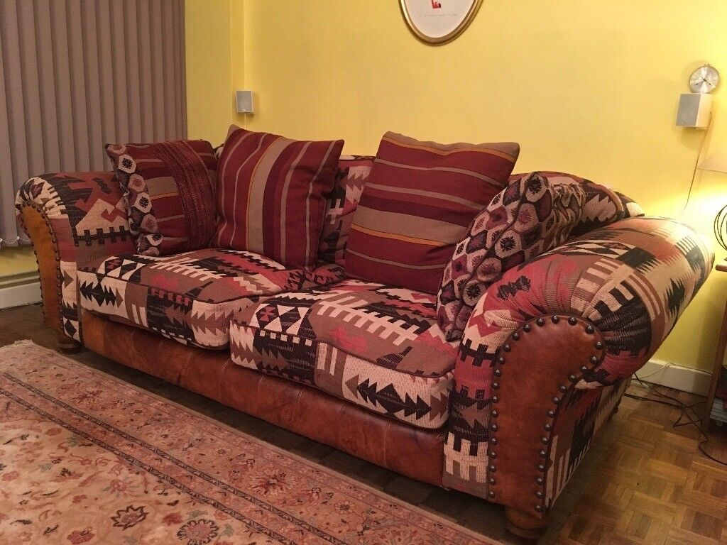 Large Fabric Tetrad Texas Sofa