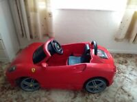 Ferrari ride on Sports car