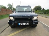 2004 LANDROVER DISCOVERY TD5 7 SEATER LEATHER TOW BAR