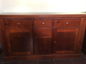 SOLID WOOD CHERRY SIDE BOARD