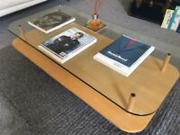 Coffee Table - Boconcept - Pine & Glass