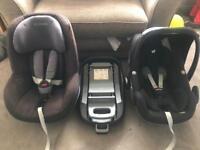 Maxi cosi car seat bundle pebble / Pearl and Isofix base