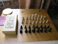 Chess Set In Box Complete. Weymouth Only £5 Free Local Delivery