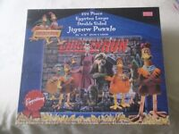 CHICKEN RUN Eggstra large double sided jigsaw puzzle