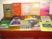 16 Brand new Islamic books & CDs