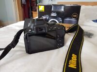 Nikon D5300 DSLR Camera (body only) with accessories, low shutter count! 24.2MP