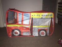 Fire engine tent