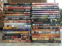 38 DVDs for sale
