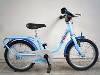 "(2169) 16"" LIGHTWEIGHT PUKY Z6 Boys Girls Kids Childs Bike Bicycle Age: 5-7 Height: 105-125 cm; BLUE"