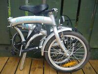 Proteam folding commuter bike, like new