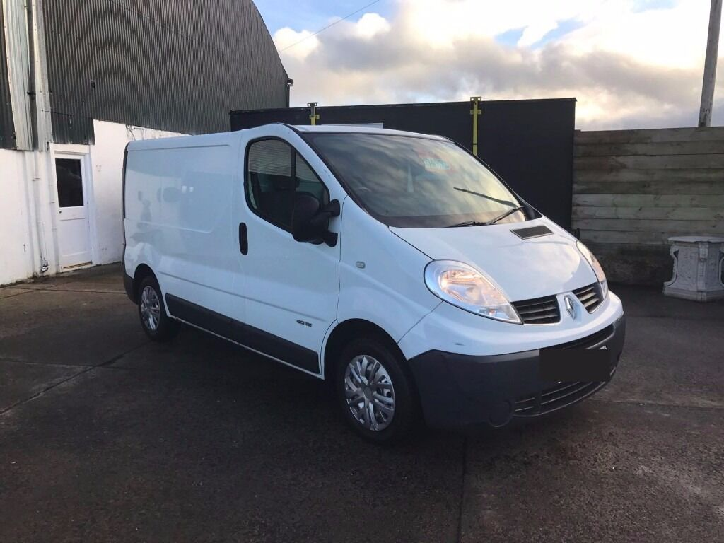 2009 white renault trafic sl27 dci 115 finance. Black Bedroom Furniture Sets. Home Design Ideas