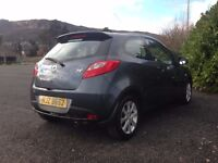 2008 Mazda 2 TS2 1.3 Manual Petrol 3 Door Hatchback