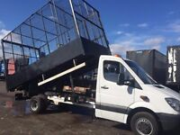 Sprinter 5T 2011 Large 15 foot steel Tipper Cage Only Clean & Strong Tipping Ram