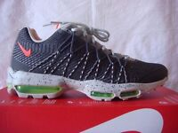 Nike air max 95 ultra Jacquard black grey golw red mens UK Size 7