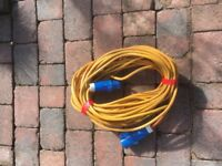 Caravan 240 volt electric hook up cable 16amp 25 metres