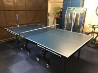 BLUE GALLANT KNIGHT ACADEMY 19 INDOOR TABLE TENNIS TABLE.