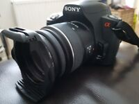 Sony A290 DSLR with 18-55mm.