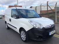 2014 14 Vauxhall Combo 1.6 CDTI 105 2300 S/S L1H1 White Turbo Diesel Van NO VAT