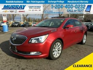 2014 Buick LaCrosse Leather *Backup Camera* *Heated Leather*