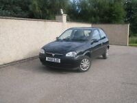 Vauxhall Corsa Club 12V, 3 door hatchback, 1L (2000)