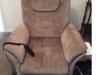 Single disabled armchair electric
