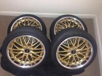 CRUIZE Wheels 5x112 18' with tyres