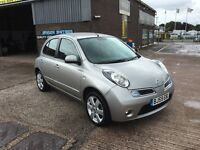 2009 NISSAN MICRA 1.2 N-TEC 5 DOOR AUTOMATIC,ONLY 23000 MILES WARRANTED,CRUISE,AIR CON