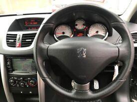 2012 (12 reg) Peugeot 207 1.4 VTi Sportium 5dr Hatchback Petrol 5 Speed Manual