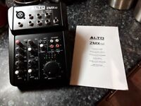 Alto Professional ZMX52 Compact 5 Channel Mixer