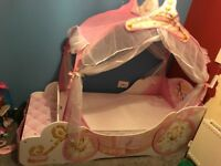 Disney princess carriage junior bed