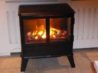 Log Burning Effect Electric Fire - Dimplex Cassington CSN20