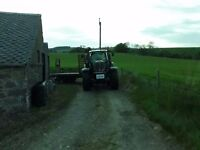 Man and Tractor for hire, farm work