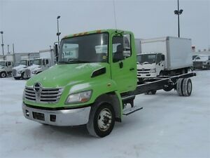 2010 Hino 258 LP, Cab/Chassis only. Air Suspension